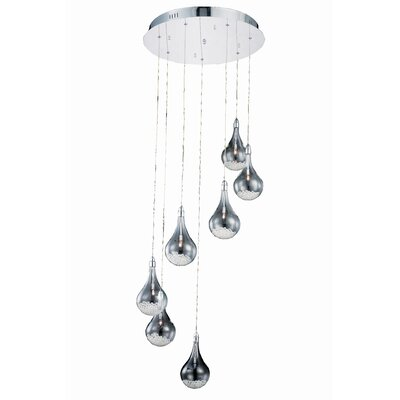 Alcinous 7-Light Cascade Pendant