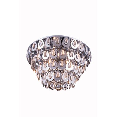 Marjorie�8-Light Flush Mount