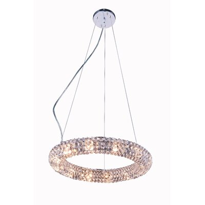 Acevedo 12-Light Crystal Pendant