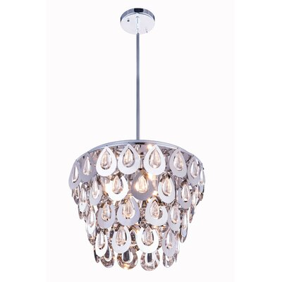 Marjorie� 4-Light Crystal Pendant