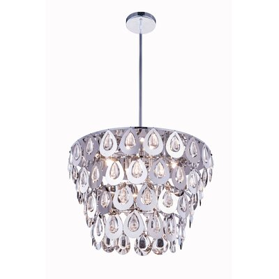 Marjorie� 6-Light Crystal Pendant