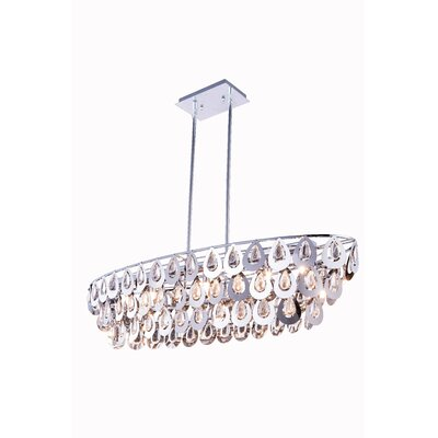 Marjorie� 7-Light Crystal Pendant