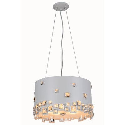 Vernia 6-Light Drum Pendant