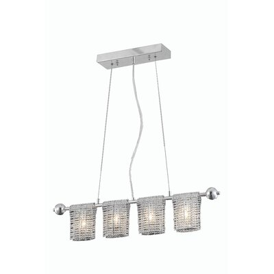 Darcelle 4-Light Kitchen Island Pendant