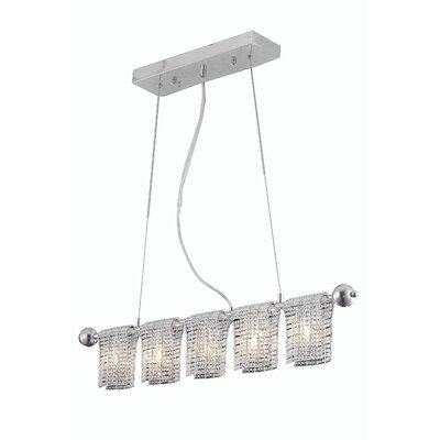 Darcelle 5-Light Kitchen Island Pendant