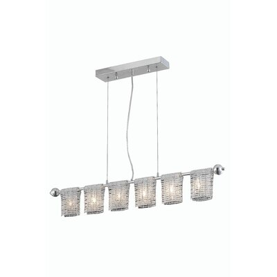 Darcelle 6-Light Kitchen Island Pendant
