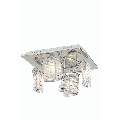 Vivid 4-Light Flush Mount
