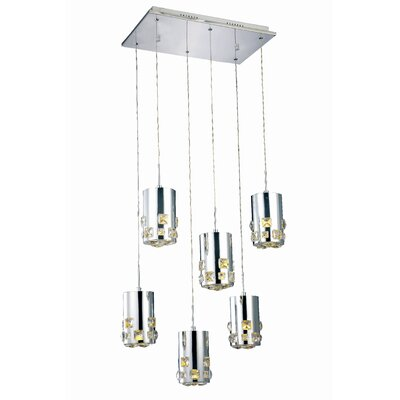Verline 6-Light Cascade Pendant