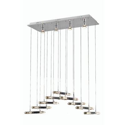 Michal 18-Light Cascade Pendant