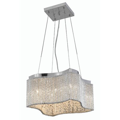 Downes 8-Light Crystal Pendant