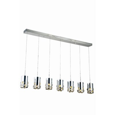 Verline 7-Light Kitchen Island Pendant
