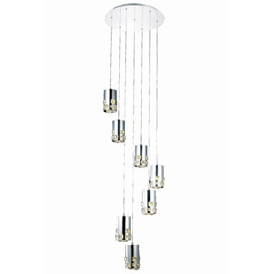 Verline 7-Light Cascade Pendant