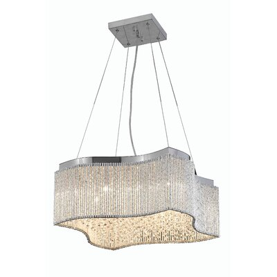 Downes 16-Light Crystal Pendant