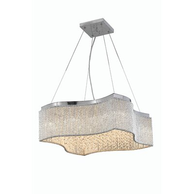 Downes 24-Light Crystal Pendant