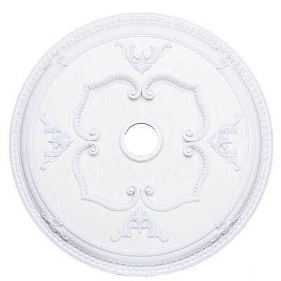 Medallion Ceiling Canopy Finish: French Gold