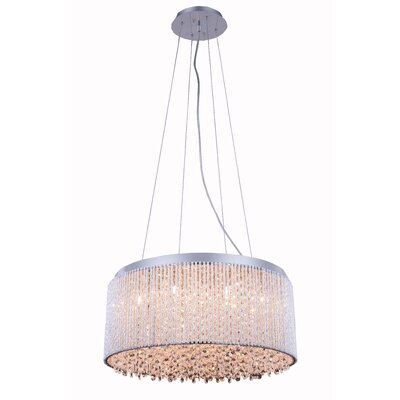 Downes 12-Light Crystal Pendant