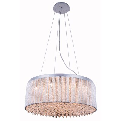 Downes 14-Light Drum Pendant