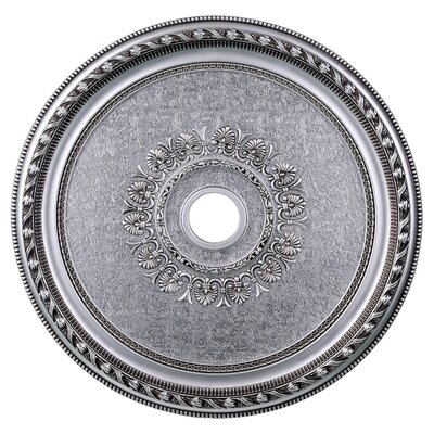 Medallion Ceiling Canopy Finish: Pewter