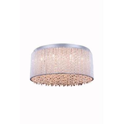 Downes 12-Light Flush Mount