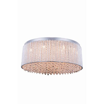 Downes 14-Light Flush Mount