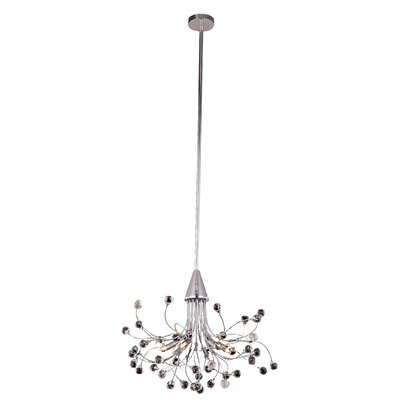 Addie 6-Light Crystal Pendant