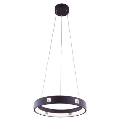 Holliday 275-Light Mini Chandelier Finish: Brown