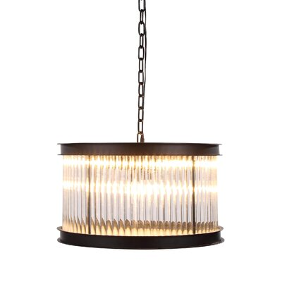 Arnot 6-Light Drum Pendant