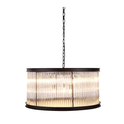 Royale 9-Light Drum Pendant Size: 26 H x 35.5 W x 35.5 D