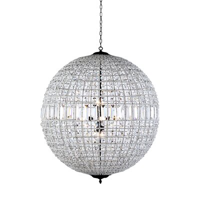 Tilbury 8-Light Globe Pendant Color: French Gold