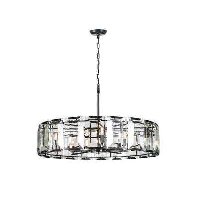 Tallman 10-Light Drum Pendant