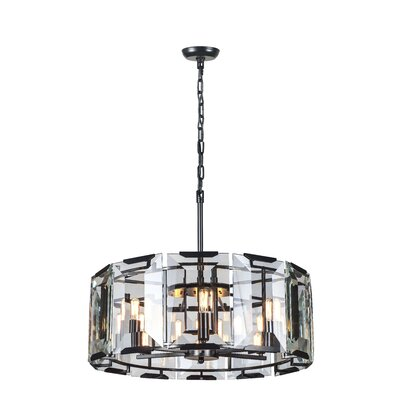 Tallman 6-Light Drum Pendant