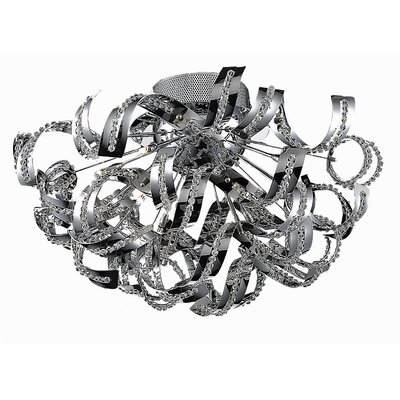 Thalassa 19-Light Semi Flush Mount