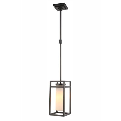 Simms 1-Light Mini Pendant Finish: Bronze