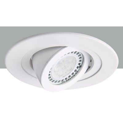 Adjustable Spot 4 LED Recessed Trim