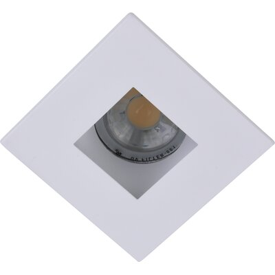Square Aperture 3 LED Recessed Trim