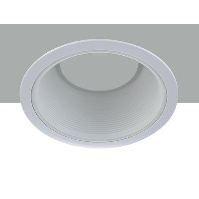 Line Voltage Baffle 6 LED Recessed Trim