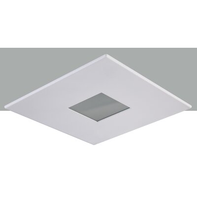Square Shower 4 LED Recessed Trim