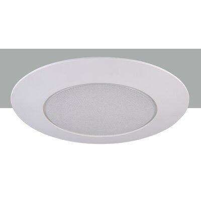 Line Voltage Shower 6 LED Recessed Trim