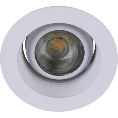 Adjustable Spot 3 LED Recessed Trim