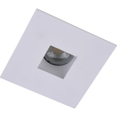 Square Aperture 4 LED Recessed Trim