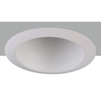 Line Voltage Cone Baffle 6 LED Recessed Trim