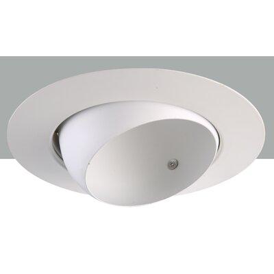 Line Voltage Eyeball 6 LED Recessed Trim