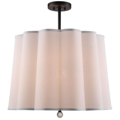 Trexlertown 5-Light Drum Pendant Finish: Bronze