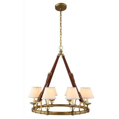 Slater 31-Light Shaded Chandelier Finish: Bronze