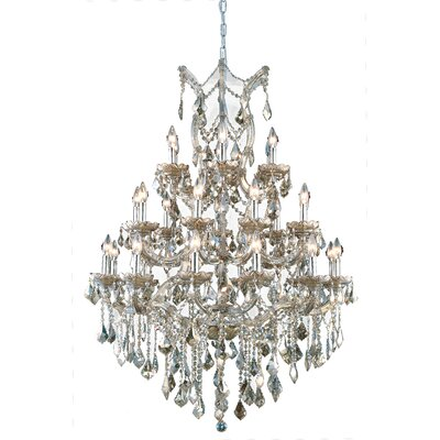 Regina 28-Light Royal Cut Crystal Chandelier