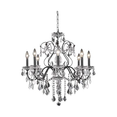 Thao Crystal Chandelier Crystal Grade: Royal Cut, Number Of Lights: 8