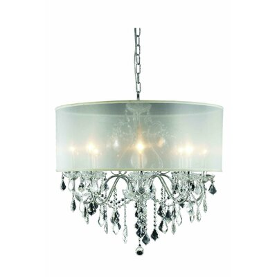 St. Francis 8-Light Crystal Chandelier Crystal Grade: Royal Cut