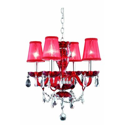 Princeton 4-Light Shaded Chandelier