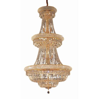 Reiban 32-Light Crystal Chandelier