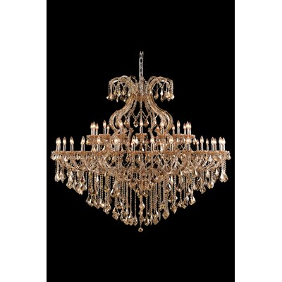 Regina Traditional 49-Light Royal Cut Crystal Chandelier